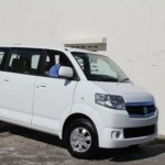 The new Suzuki APV Mini Bus anonymously donated to the Ministry of Health in the Nevis Island Administration for use by the Mental Health