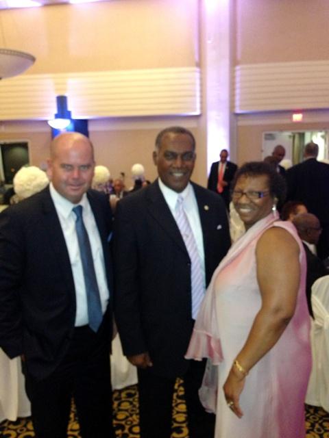 Vance Amory with Guests of SKN Toronto Gala