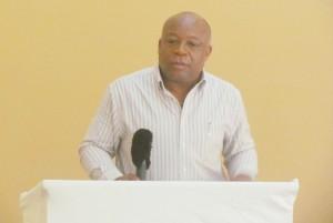PEP Training Coordinator in Nevis, Mr Hensley Daniel