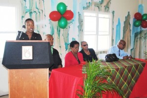 : PEP official Mrs Diana Pemberton gives an overview of the PEP School of Cosmetology