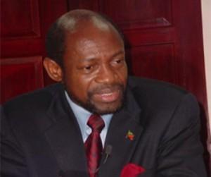 St. Kitts and Nevis' Prime Minister the Rt. Hon. Dr. Denzil L. Douglas (Photo by Erasmus Williams)