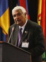 Minister of Foreign Affairs, Winston Dookeran (photo: flickr.com)