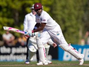 Darren Bravo has been one of the main performers for West Indies on the New Zealand tour © AFP