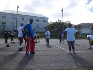 Nevis Island Team Practice Session-Monsterrat 3