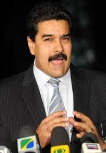 President of Venezuela, His Excellency Nicolas Maduro