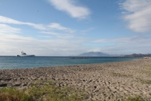 Nevis boasts of sprawling vistas of sandy beaches and warm sunshine. The view at Pinneys Beach