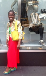 Esther Brooks, an International Fashion Designer