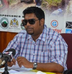 Minister of Tourism Irfaan Ali