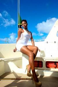 The reigning Ms Culture Swimwear, Cherissa Maynard