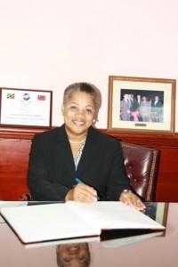 Chief Justice Dame Janice Pereira.