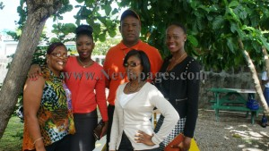 Models from the Greene House Modeling Agency with family of the late Nigella Browne