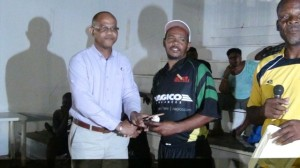 Frank Monzac -bowler of the tournament