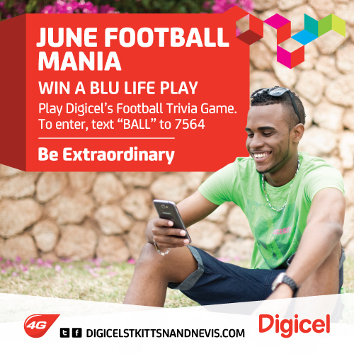Digicel Text to Win Game - BLU Life Play