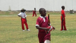 Ivor Walters -maroon v St.James Primary -red
