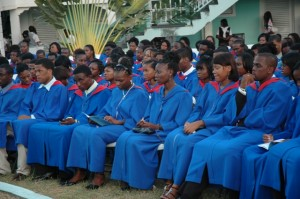 File photo of CFBC graduation