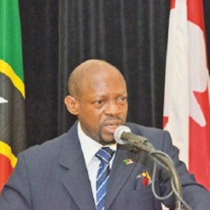 PM Douglas of St. Kitts and Nevis