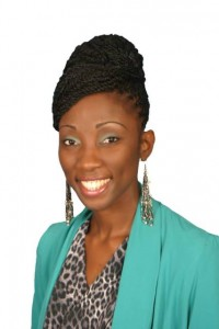 Sonia Boddie Caricom Youth Ambassador St.Kitts and Nevis