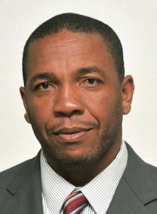 St. Kitts and Nevis' Minister of Sports, the Hon. Glenn Phillip
