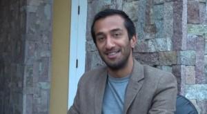 Naeem Hayata cast member in William Shakespeare's play Hamlet performed in Nevis by Globe to Globe of London