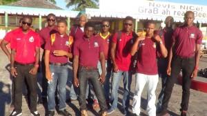 Nevis senior team off to Montserrat