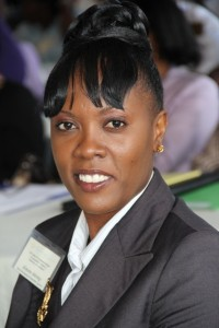 Director of the Nevis Investment Promotion Agency Kimone Moving