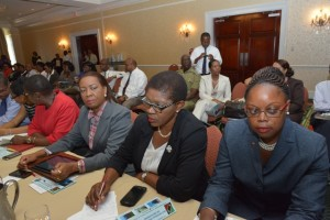 Other photos show participants from the business and diplomatic sectors and government. (Photo by Willett's Photo)
