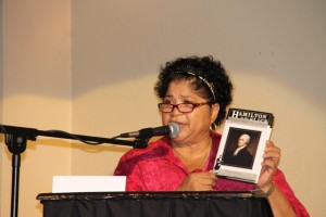 Executive Director of the Nevis Historical and Conservation Society Evelyn Henville