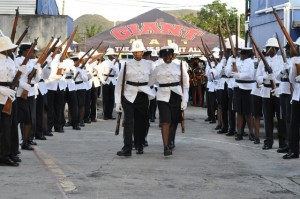 Constables of the Royal St. Christopher and Nevis Police Force