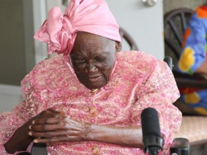 "Ms. Celian ""Martin"" Powell celebrating her 103rd birthday on January 19, 2015"