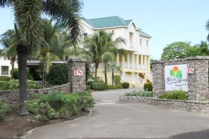The entrance to the newly Hospitality Assured certified Nelson Spring Beach Resort