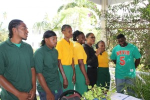 Staff at the Nelson Spring Resort