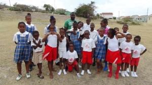 St. James Primary Inter Primary squad