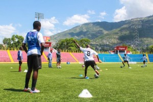 Haiti's youth players are known for their strong attacking style and technical ability