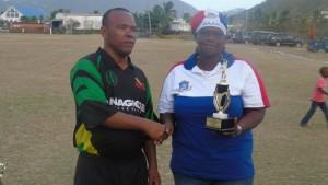 Patrick Newton-bowler of the tournament