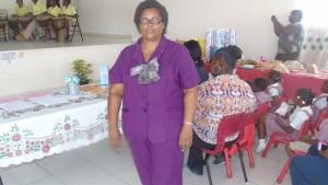 Mrs. Greta Jeffers, Center manager
