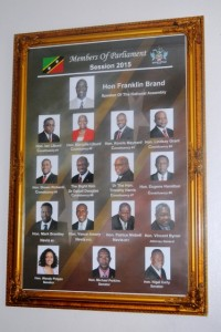 Members of Parliament for 2015
