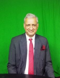 Commonwealth's Secretary-General, Kamalesh Sharma while on his third visit to St. Kitts and Nevis