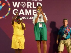 Constance wins Gold Medal in Ladies Singles Division - Bocce.jpg