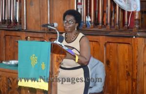 Education Officer, Mrs. Ermelita Elliot