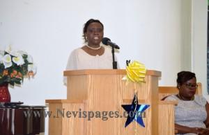 Education Officer, Mrs. Arvil Elliot