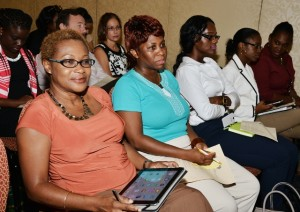 Willet Photo Studio 2: Cross-section of audience attending the Service Providers Conference for the CBI Programme --