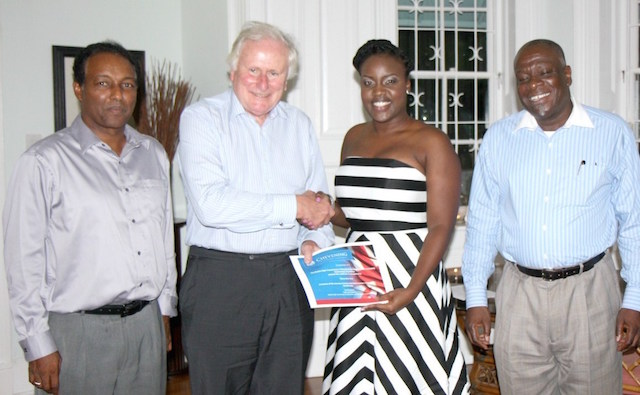 Shena-Ann Ince receives her award from Lord Kerr copy 2