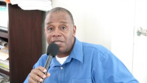 Permanent Secretary in the Ministry of Agriculture and Fisheries Eric Evelyn