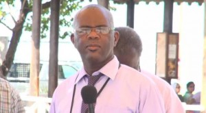 Manager of the Nevis Air and Sea Ports Authority Oral Brandy