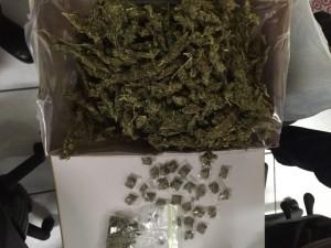 Marijuana seized during operations Friday 26
