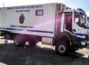Mobile Command Unit. Essential for Command and Control during Operation Vice Grip