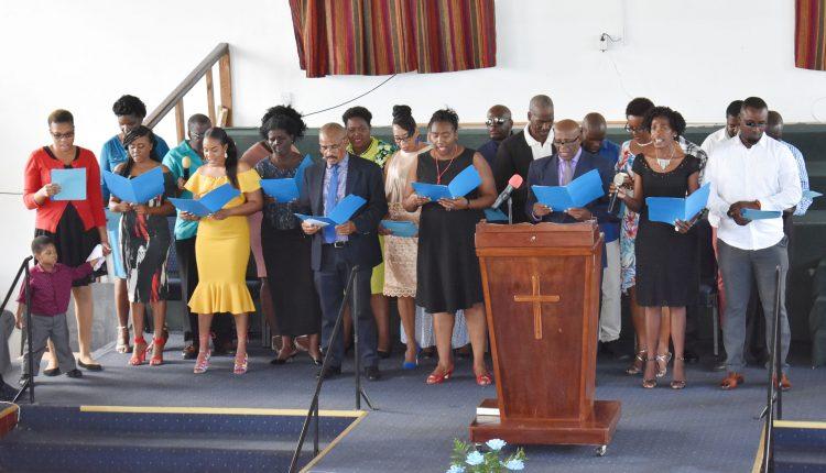 STEP anniversary church service 4